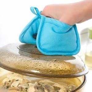 美麗大街【BF421E15】SAFEBET 可掛式微波爐隔熱夾 加厚全棉耐高溫烤箱防燙手墊