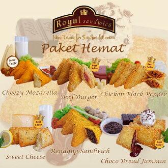 Promo Makanan dan Minuman Rakuten - promo isi 6 boxes royal sandiwch