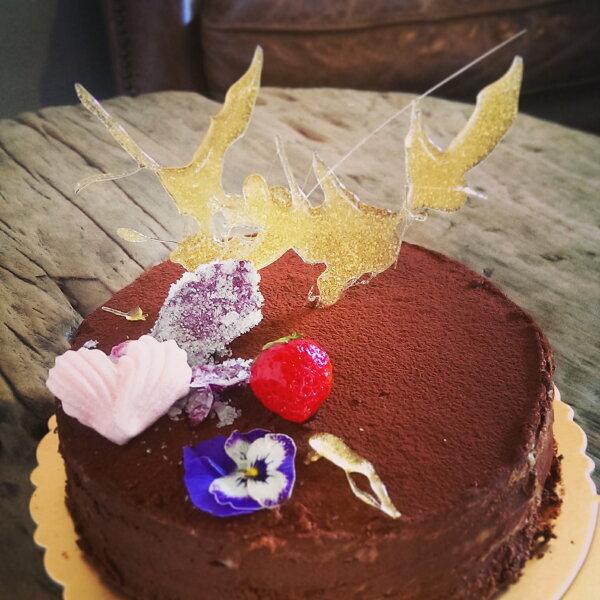 生巧克力千層蛋糕