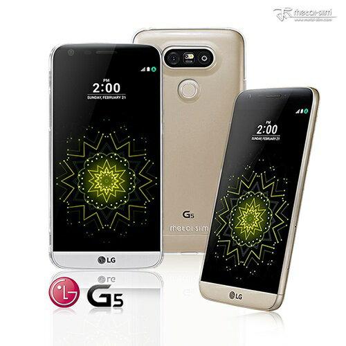 【UNIPRO】Metal-Slim LG G5 高抗刮PC透明系列保護殼 奈米防刮塗層 TPU透明軟殼