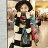 圍巾 繽紛圖騰印花毛邊披肩/圍巾【LQD174】 BOBI  10/20 0
