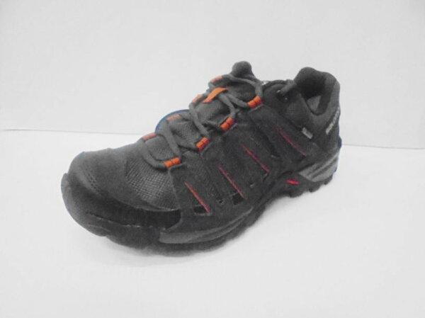 [陽光樂活]SALOMON TASMAN 2 GTX/男 低筒登山鞋- L38139800 瀝青x黑x金屬灰