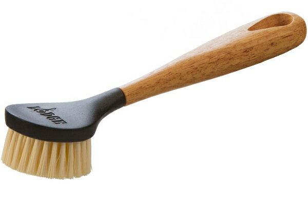 Lodge 木柄清潔刷/荷蘭鍋刷/鑄鐵鍋清潔刷 SCRBRSH