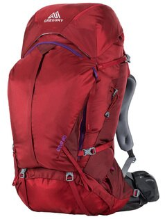【鄉野情戶外專業】 Gregory |美國|  Deva 60 登山背包《女款》/重裝背包 自助旅行背包-紅寶石S/65033 【容量60L】