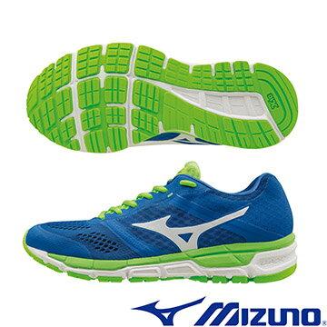 J1GE161902 (藍X白)  MIZUNO SYNCHRO MX 休閒款男慢跑鞋  A【美津濃MIZUNO】