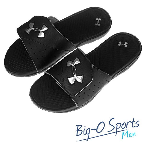 秒殺新款!!! UA Under Armour   男子UA Playmaker Slides V拖鞋   運動拖鞋  男 1252531002 Big-O Sports