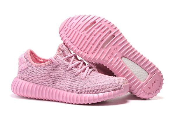 Adidas Originals Yeezy Boost 350系列  粉色女生慢跑鞋運動鞋36-39
