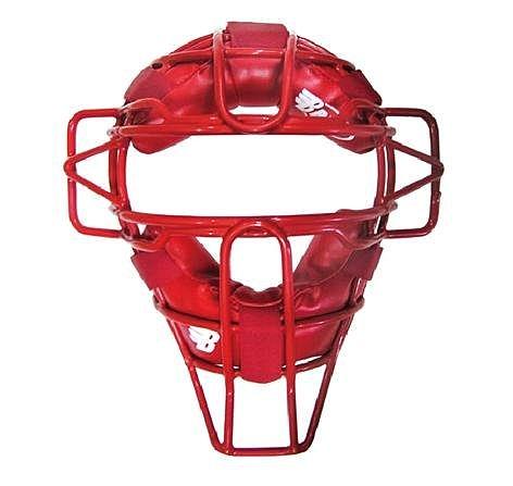 棒球世界 Brett 布瑞特 成人用捕手面罩 BM-11E 紅色