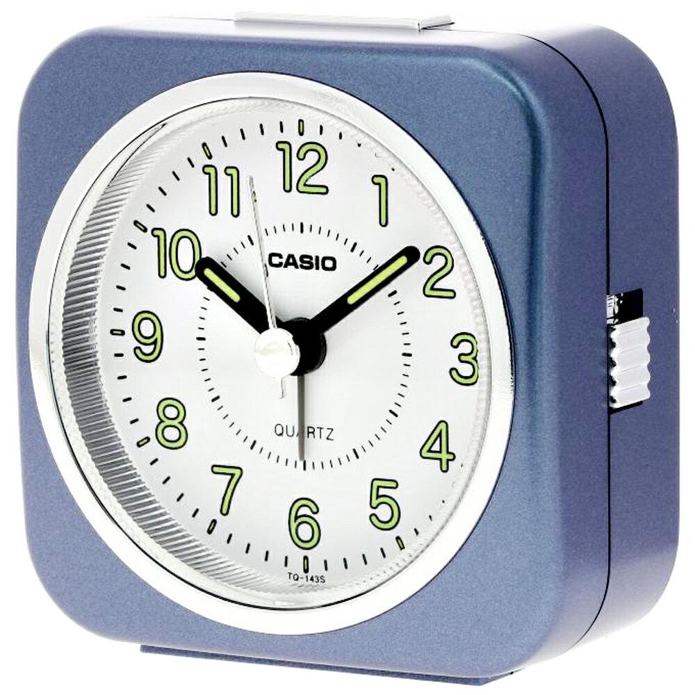 CASIO 卡西歐 TQ-143S 經典復刻版桌上型指針鬧鐘 2
