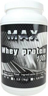 MAX 麥斯 乳清蛋白進階版(分離乳清蛋白+BCAA) 1KG