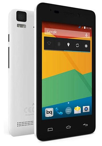 BQ AQUARIS E4 8GB BLANCO. TELEFONO LIBRE (OUTLET) 0