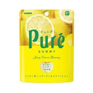 KANRO甘樂PURE檸檬軟糖(63g)