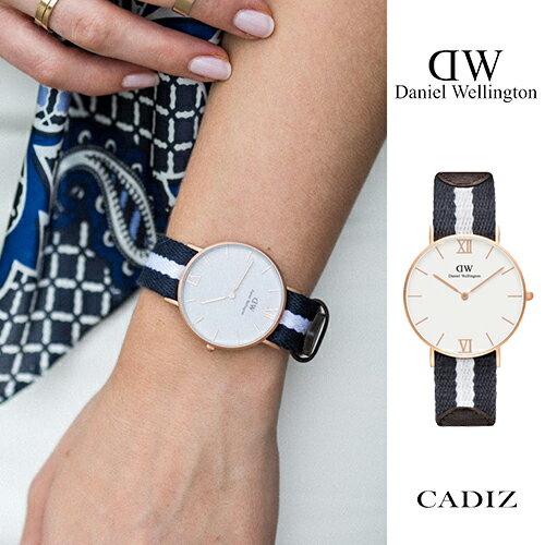 【Cadiz】瑞典正品 Daniel Wellington DW錶 0552DW 噴砂玫瑰金 Grace Glasgow 36mm [代購/ 現貨]