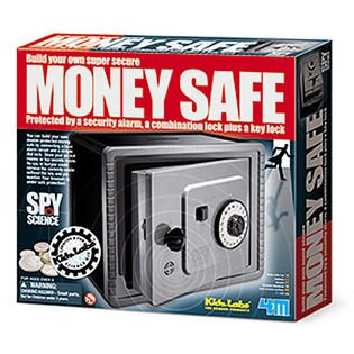 【4M 創意 DIY】Money Safe 間諜防盜保險箱
