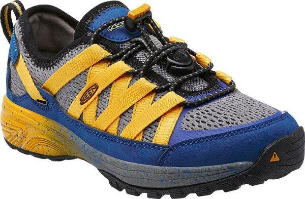 KEEN 美國 兒童登山鞋/休閒鞋/護趾越野鞋/健行鞋 Big Kid's Versatrail 1014435 黃/台北山水