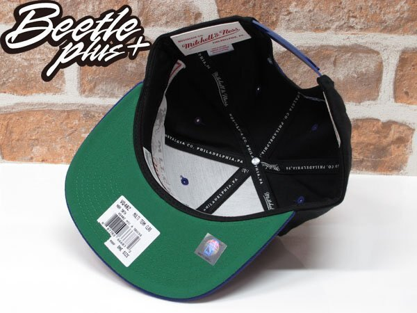 BEETLE MITCHELL&NESS NBA BUCKS SNAPBACK 密爾瓦基 公鹿隊 黑紫綠 後扣棒球帽 MN-333 2