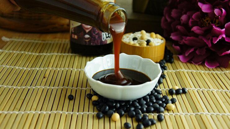 【阿嬤の豆油】  任選6入組  傳統天然純釀黑豆醬油 / 醬油膏(420ml/瓶) 以最自然的方式釀製,非一般化學醬油膏 2