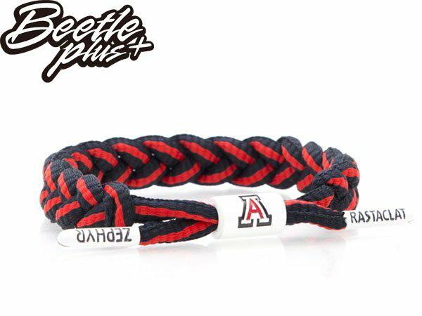 BEETLE RASTACLAT SHOELACE BRACELET 亞利桑那 深藍紅 倉石 天使 線條 雙色 鞋帶 編織 手環 RA-70 0