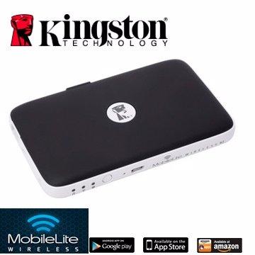 *╯新風尚潮流╭*金士頓 MobileLite Wireless G2 無線讀卡機 行動電源 MLWG2