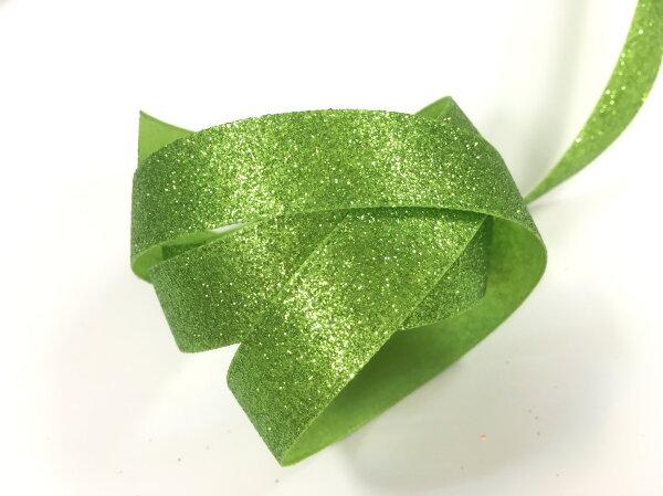 【Crystal Rose緞帶專賣店】單面亮彩噴蔥 15mm 3碼裝 (9色)