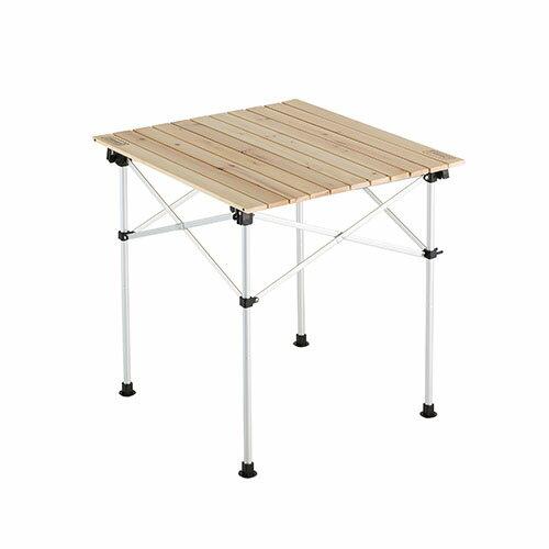 ~露營趣~中和 Coleman 天然實木蛋捲桌 65 休閒桌 戶外桌 露營桌 折疊桌 野餐