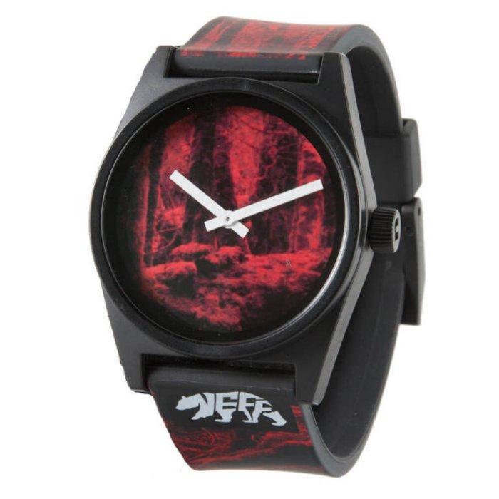 BEETLE NEFF DAILY WILD WATCH 百搭款 森林 小熊 黑紅 黑白 指針錶 手錶 圓錶 防潑水 - 限時優惠好康折扣