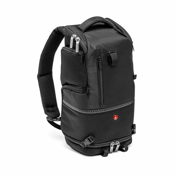 Manfrotto 正成公司貨 MB MA-BP-TS - Tri Backpack 專業級3合1斜肩後背包 S