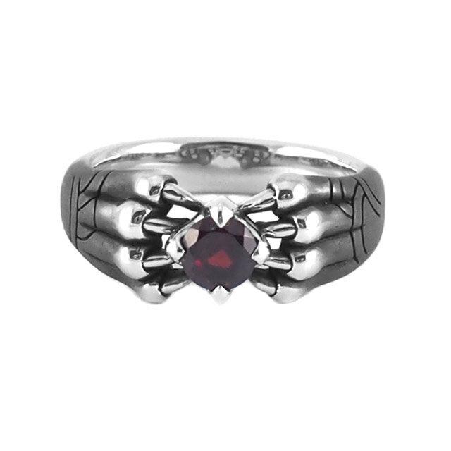 【現貨商品】【Bloody Mary】Aslan 阿斯蘭獅爪純銀戒指 石榴石(BMR1386-G) 2