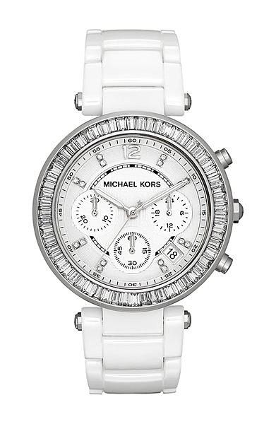 美國Outlet正品代購 MichaelKors MK 陶瓷 水鑽 三環 手錶 腕錶 MK5848 2