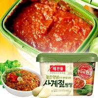 中秋節烤肉食材到韓國 CJ 豆瓣醬 拌飯醬 生菜沾醬500g[KO8801007052854] 千御國際