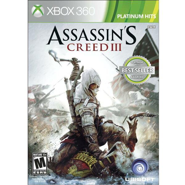 (現貨全新) XBOX360 刺客教條 3 英文美版 Assassin's Creed 3