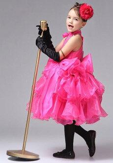 Promo Kebutuhan Bayi dan Anak Rakuten - ~cutevina~ girl clothes / hotpink party dress (ac001)