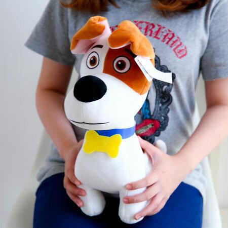 正版寵物當家麥斯娃娃 35cm MAX 狗狗 玩偶 布偶 絨毛娃娃 絨毛玩具 The Secret Life of Pets【B062111】