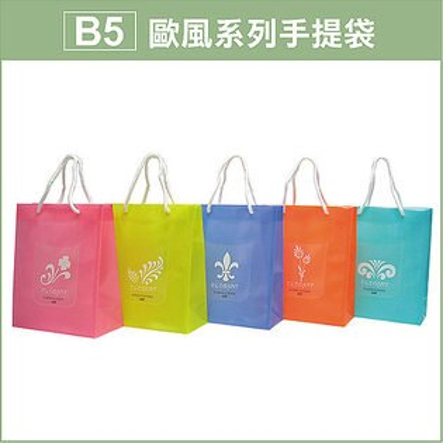 HFPWP B5手提袋 PP環保無毒防水塑膠 台灣製 BWE317 / 個