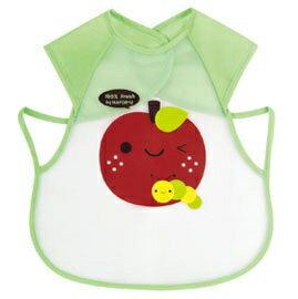 『121婦嬰用品館』拉孚兒 擦可淨用餐圍兜(背心型) - 蘋果 0