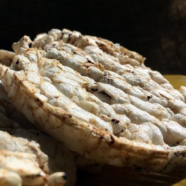 【萊斯飯店】健康有機糙米餅紫米 素食