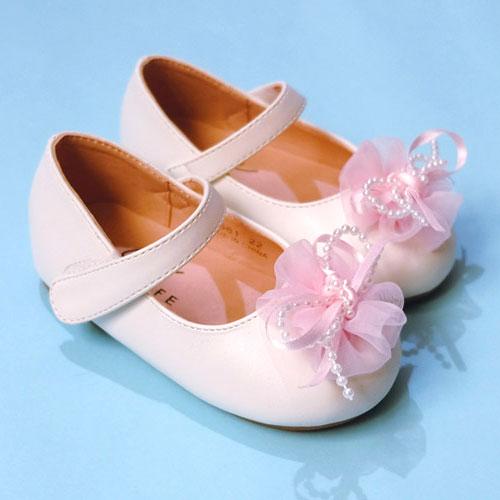 【錢豪童裝童鞋】CONNIFE純白娃娃鞋(21~27號)
