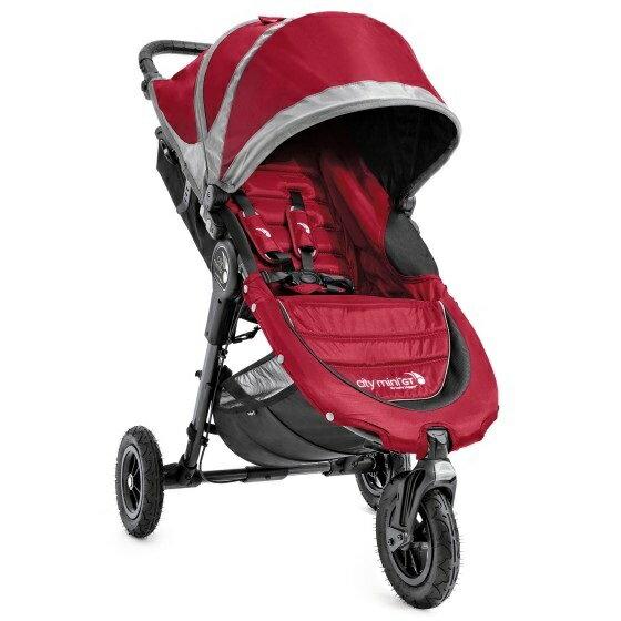 美國【Baby Jogger】City Mini GT 三輪嬰兒手推車 0