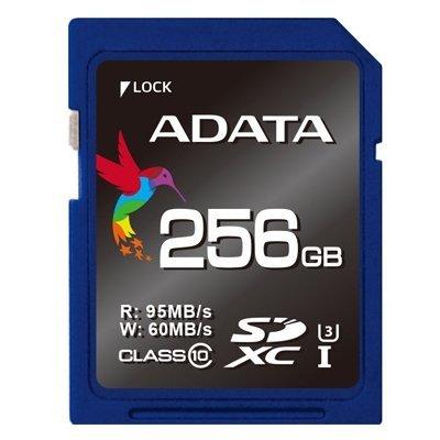 *╯新風尚潮流╭* 威剛記憶卡 256G 256GB SDXC U3 讀95寫60 ASDX256GUI3CL10-R