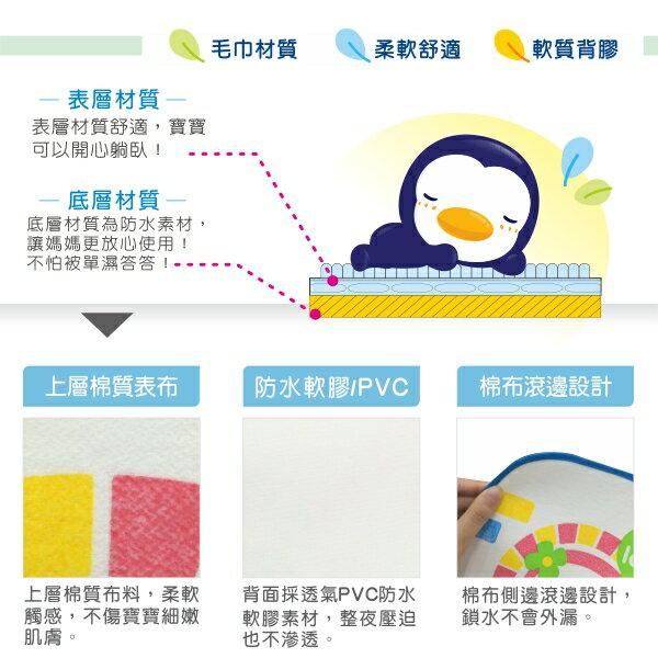 『121婦嬰用品館』PUKU 攜帶型防濕墊40*60cm - 粉 4