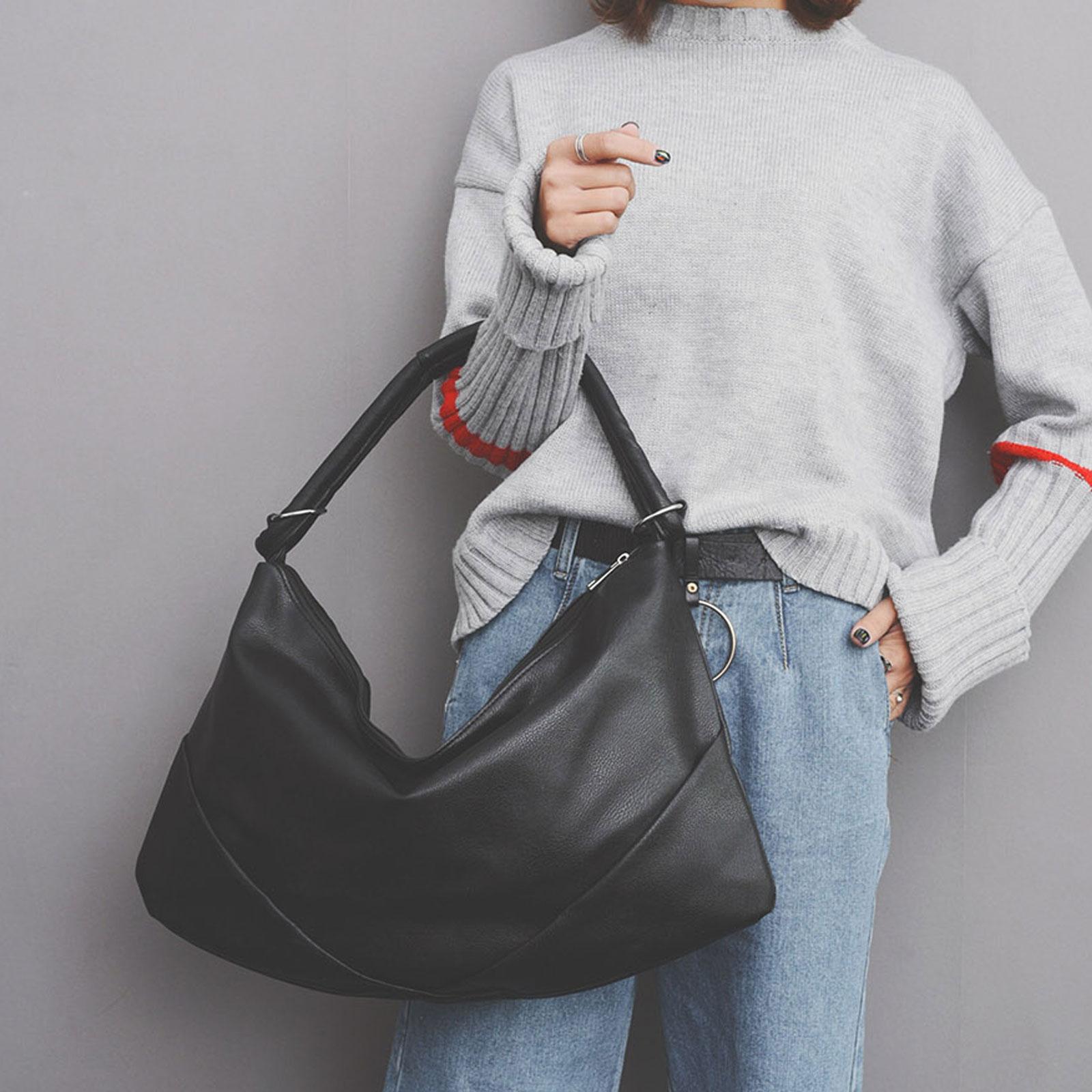 手提包 韓國時尚皮革水餃包肩背包【O3226】☆雙兒網☆ 2