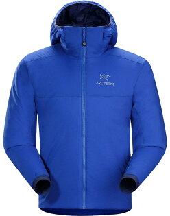 [ Arcteryx 始祖鳥 ] 14648 Atom AR Hoody 連帽化纖保暖外套/防潑水滑雪外套/雪衣/登山保暖層 男款 對流藍Arc'teryx