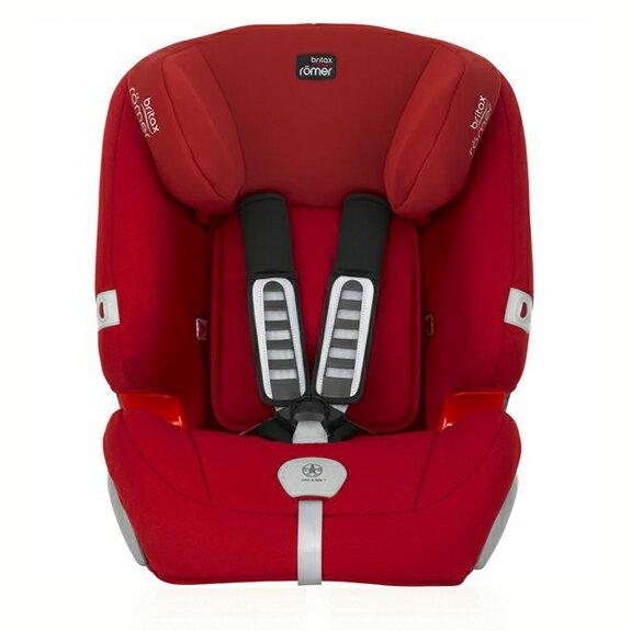 Britax - Romer Evolva 1-2-3 Plus 旗艦成長型汽車安全座椅(汽座) -火焰紅