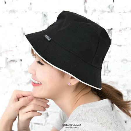 潮流迷彩漁夫帽 型男百搭 紳士帽 戶外遮陽帽 柒彩年代【NH140】旅遊透氣棉料 0