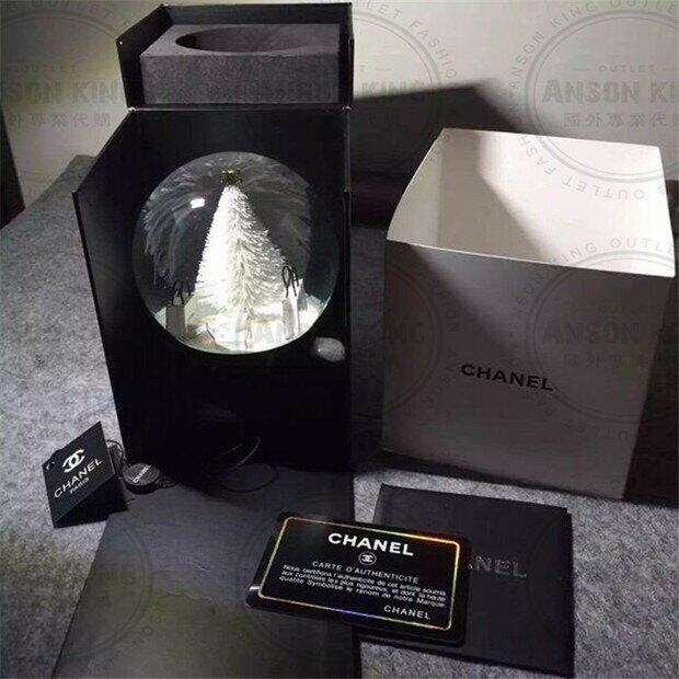 Chanel 香奈兒 小香 VIP 聖誕節 雪花 聖誕樹 贈品 送禮 情人節 水晶球 2