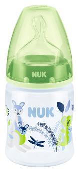 『121婦嬰用品館』NUK 寬口徑PP奶瓶150ml - (1號中圓洞) 4