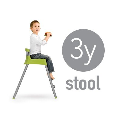 義大利【Chicco】Stack三合一多功能成長高腳餐椅(6M-3Y)-藍 3