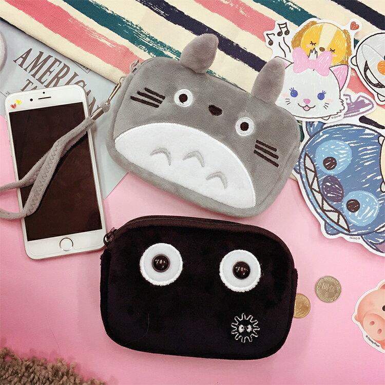 PGS7 卡通系列 ~ 龍貓 系列 雙層拉鏈 收納包 Totoro 吉卜力 宮崎駿 小灰塵