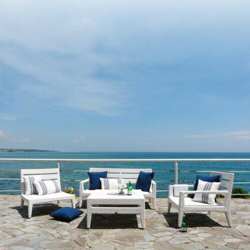 PANAMERA 帕納米 雙人沙發 戶外家具【7OCEANS七海休閒傢俱】EXPRESSO 黑褐色 2