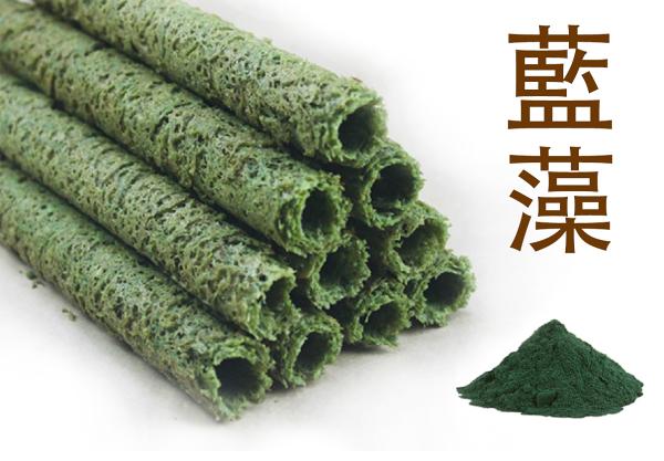 【阿哥手工蛋捲】藍藻 3包入/15支蛋捲禮盒【蛋奶素】